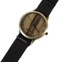 Jam Analog Rown Division Wrist Gold Art