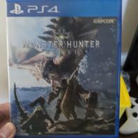 game ps 4 monster hunter world