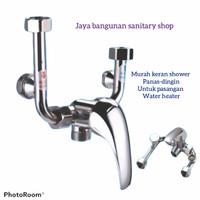 keran air panas dingin tanpa bobok tembok/ keran water heater