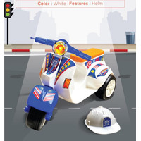 Mainan VC 162 Vespa Mini / Vespa Cilik Dorong Klasik Roda 3 Tiga Promo