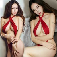 lingeries hot sexy teddy red piyama baju tidur