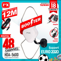 Antena TV Indoor/Outdoor PX HDA 5600 sama dengan HDA 5000
