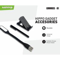 Hippo Gimmick-01 holder pen touchscreen lampu usb
