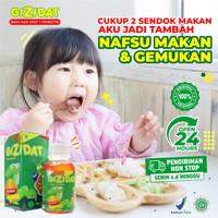 GIZIDAT Original - Madu Penambah Nafsu Makan Vitamin Anak Gemuk Sehat