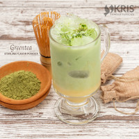 greentea matcha starlink latte powder no sugar 1000 gr