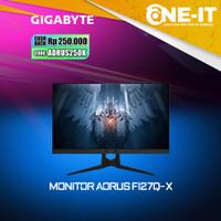 Gigabyte AORUS FI27Q-X Gaming Monitor 27 QHD 240Hz IPS