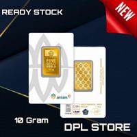 10 Gram Emas / Antam / Certicard /Certieye /NewPress