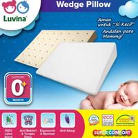 Luvina Bantal Santai Bayi Latex / Wedge Pillow - Natural Latex