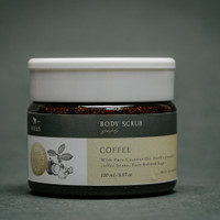 Coffee Jar Scrub Wajah Body Scrub - Miels.Id