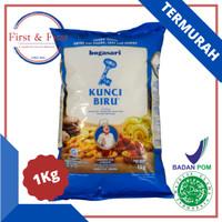 Tepung Terigu Kunci Biru Premium Bogasari 1kg