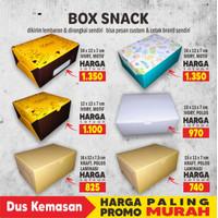 Box Snack, Dus Snack, Box Kue uk 12x16x7 cm Foodgrade cetak Full Color
