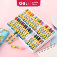 Deli 6964 crayon oil pastel 36 colors