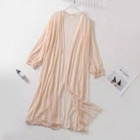 Long Outer Cardigan Lace Import - Jasmine Outer
