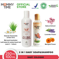 Mommy Time Baby Soap & Shampoo Liquid (2 in1) 250ml