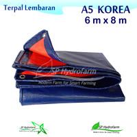 Terpal Plastik A5 KOREA 6 x 8 meter