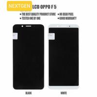 LCD + TOUCHSCREEN OPPO F5 FULLSET ORIGINAL - Hitam