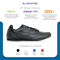SPOTEC Sepatu Taekwondo Aero Hitam - Hitam