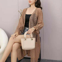 Long Outer Cardigan Lace Import - Yasmine Outer