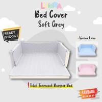 Bedcover Lumba Playmat Bumper Bed (Baby Blue)