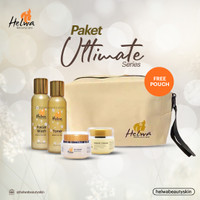 PAKET ULTIMATE WITH TONER HELWA BEAUTYCARE SKINCARE - FREE POUCH