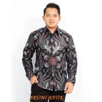 Kemeja Baju Seragam Pria Batik Lengan Panjang 2416 BIG SIZE