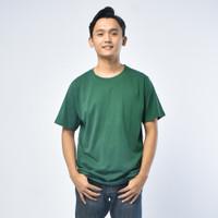 SEYES T3001 Tumblr Polo shirt Pria Atasan Kaos Pria Hijau