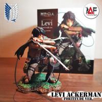 Action figure Attack on Titan Levi Ackerman Fortitude version ARTFX J
