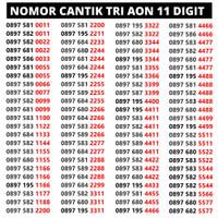Nomer Cantik three / Nomor cantik tri 11 digit / nomor perdana tri aon