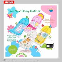 Snuggle Baby Bather Kursi Mandi Jaring Berjemur Bayi Babybather Crown