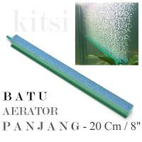 BATU AERATOR PANJANG 8 inch 20 cm Gelembung Udara Aquarium Air Stone
