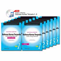 PAKET Bahasa Korea Terpadu 1-6 + CD Audio