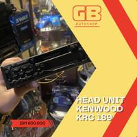 HEAD UNIT MOBIL KENWOOD KRC 198 AUDIO MOBIL