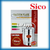 VACUUM FLASK HANDY POT SICO HPV2.0L STAINLESS STEEL DOUBLE WALL