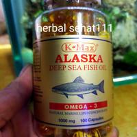 K-max omega 3 deep sea fish oil 1000mg