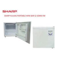 Sharp Kulkas Portable Mini bar SJ 50MB-XW 1 Pintu