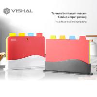 VISHAL Talenan Multifungsi Talenan Plastik Cutting Board