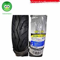 ban motor matic irc tubeless 80/90 14 - Kuning, 80/90