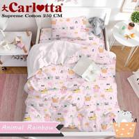Sprei Set Bed Cover Katun Premium anak size 160x200 x Tinggi 30