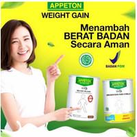 Appeton Nutrition WG WEIGHT GAIN ADULT susu dewasa VANILA /COKLAT 450g