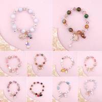 Woodland Elastic Bracelet - Jasmine Tease handmade charm gelang