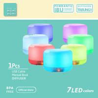 Ultrasonic Aroma Terapi Diffuser Humidifier Air Purifier 7 Color LED