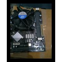 Promo Mobo - Motherboard H61 Ecs - Msi - Asrock Socket 1155 Support I3