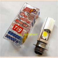 Bohlam/Bolam Lampu Depan/Utama LED 2 Sisi H6 Mio Sporty/Soul/J/Nouvo