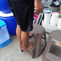 Bangku Nongkrong / Bangku Tangga Anak / Kursi Tangga Nongkrong Plastik