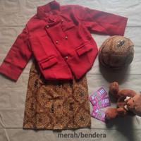 Baju Adat Anak Kostum Jawa Setelan Beskap Bayi dan Anak Solo