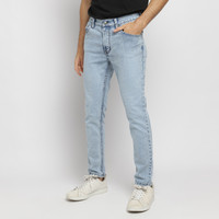 PAULMAY Celana Panjang Jeans Pria Slim Fit - Ice Blue