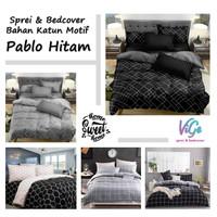 Vige Bedcover Set Katun Motif Pablo Size Single   Bad Cover Minimalis