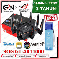 ASUS ROG Rapture GT-AX11000 TRI-BAND WiFi Gaming Router ultimate