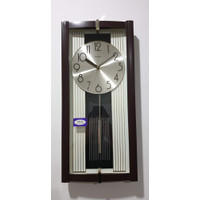 Jam Dinding Bandul Melody SAKANA 388 - Cokelat Angka