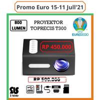 Mini Projector T300 Toprecis Proyektor Mini T300 Better Than YG300